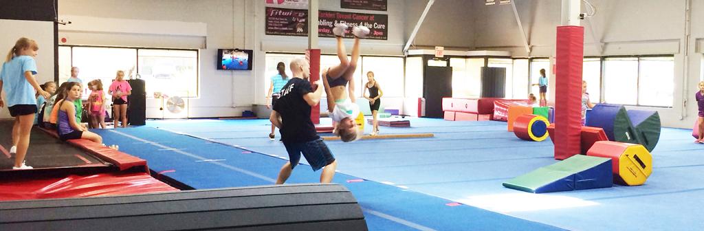 Tumbling and Cheer Classes